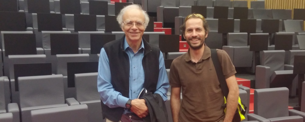 Peter Singer and I